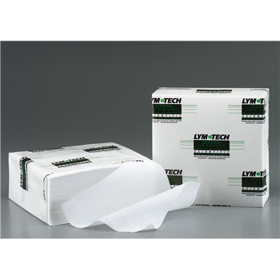 "FG Clean Wipes (Formerly Essentra Porous Technologies) 7-7219-99L-00 - Purity Wipes® - 9"" x 9"" - Standard Weight - Unlaundered - 150 Wipes/Bag - 12 Bags/Case"