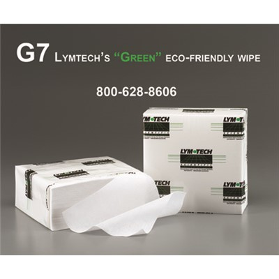"FG Clean Wipes (Formerly Essentra Porous Technologies) 7-G7-99L-00 - G7 100% Cotton Nonwoven CR Wipe - 9"" x 9"" - 250 Wipes/Bags - 12 Bags/Case"