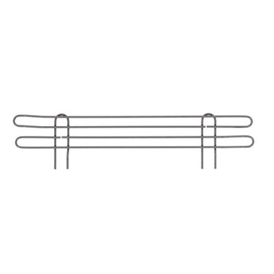 "InterMetro Industries (Metro) L72N-4K4 - Metro Super Erecta 4"" High Stackable Ledge for Wire Shelving - Metroseal Gray Epoxy - 72"""