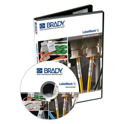 Brady LM6PROCD - LabelMark 6 Professional Label Design Software - Single User License