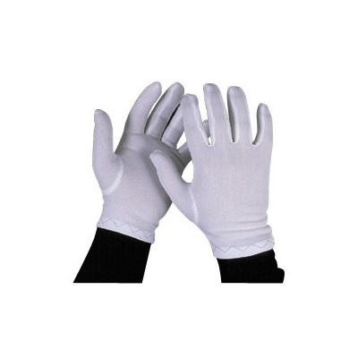 Q Source Cotton Inspection Gloves - 12/Pack