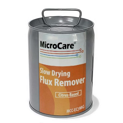 MicroCare MCC-EC7MG - Bioact® Slow Drying Flux Remover - 1 Gallon Pail