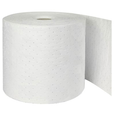 "Brady OP15P - Oil Plus Heavy Weight Absorbent Roll - Perforated - 15"" x 150"