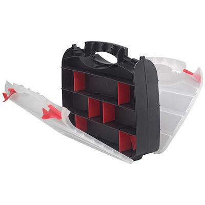 "Quantum Storage Systems ORG80322 - Double Sided Tool Organizer - 13"" x 10"" x 3"" - 5/Carton"