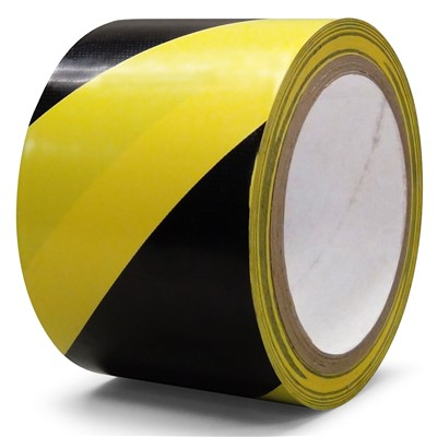 "Q Source PST3BY - Aisle Marking Safety Tape - 3"" x 18 yd"
