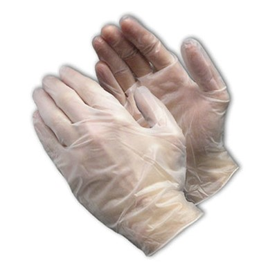 PIP 64-435PF - Ambidextrous Disposable Vinyl Gloves - Medical Grade - Powder-Free - 5 mil - 100/Box