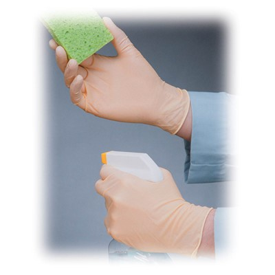 PIP 62-321PF - Ambidextrous Disposable Latex Gloves - Exam Grade - Fully Texturized - Powder-Free - 5 mil - 100/Box