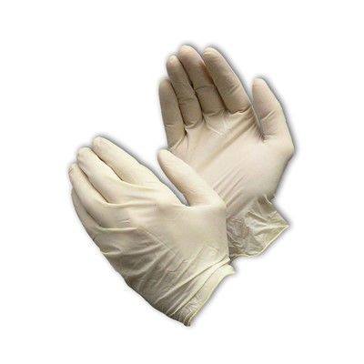 PIP 62-322PF - Ambidextrous Disposable Latex Gloves - Industrial Grade - Fully Texturized - 5 mil - 100/Box