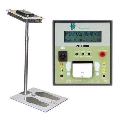 Transforming Technologies PDT800K - Digital Display ESD Tester & Foot Plate w/Stand