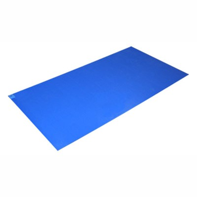 "Connecticut Clean Room P-108-CL - PolyTack Premium Mat - 36"" x 72"" - Clear - 4 Mats of 30/Case"