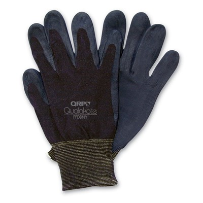 QRP PPDBNY - Qualakote NY Assembly/Inspection Gloves - Black - 12 Pair/Pack