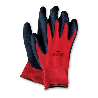 QRP GNRN - Little Red Gripper Gloves - Black/Red - 12 Pair/Pack