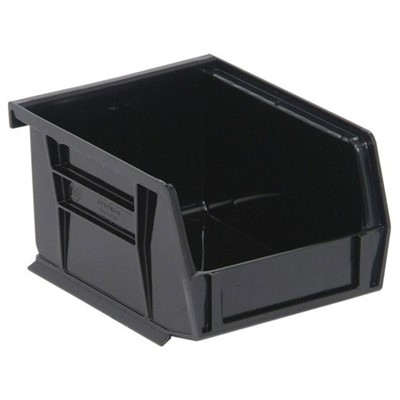 "Quantum Storage Systems QUS200CO - Conductive Ultra Stack & Hang Bin - 5"" x 4.125"" x 3"" - 24/Carton"
