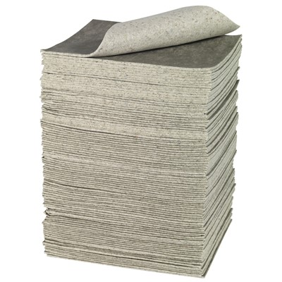"Brady RFP100 - Re-Form Plus Heavy Weight Absorbent Pad - Perforated - 15"" x 19"" - 100/Case"