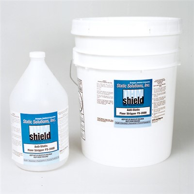 Static Solutions FS-3500 - Ohm-Shield™ Floor Stripper for Static Control Floor Waxes - 4:1 Concentrate - 1 Gallon Jug
