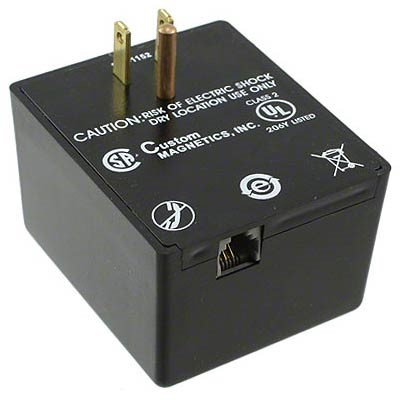 SCS 960/980X - Wall Transformer for 960 Air Ionizer & 980 Ionized Air Gun