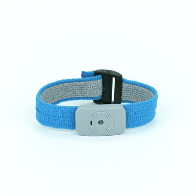 SCS 2368 - Dual Conductor Adjustable Fabric Wrist Band for Monitors