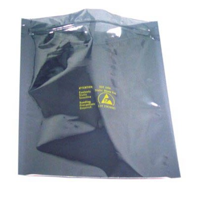 "SCS 150Z1218 - 1500 Series Metal-Out Zip-Top Reclosable Static Shielding Bag - 12"" x 18"" - 100/Bag"