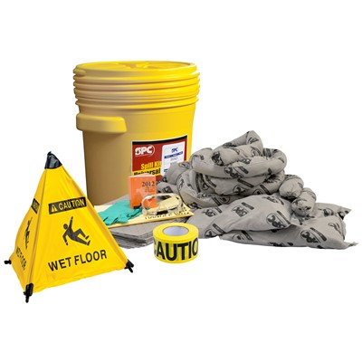 "Brady SKA-20-RESCUE - 20 Gallon Universal Rescue Spill Kit - 21"" Dia. x 18"""