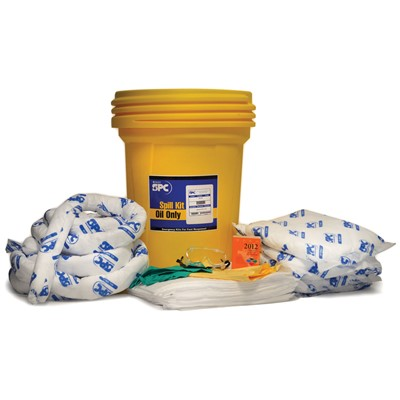 "Brady SKO30 - 30 Gallon Oil-Only Spill Kit - 21.125"" Dia. x 28.5"""