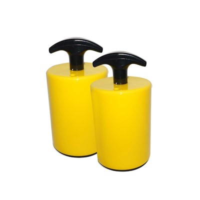 Transforming Technologies SR0065 - Surface Resistance Probes - Yellow Protective Coating - 5Lbs - 2/Set