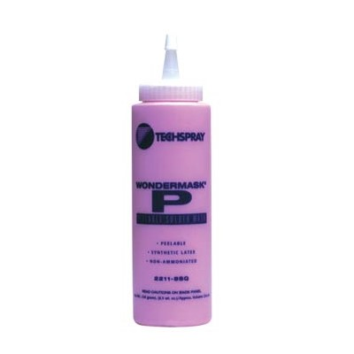 Techspray 2211-8SQ - WonderMASK® P - Temporary Peelable Solder Mask - 8 oz Squeeze Bottle
