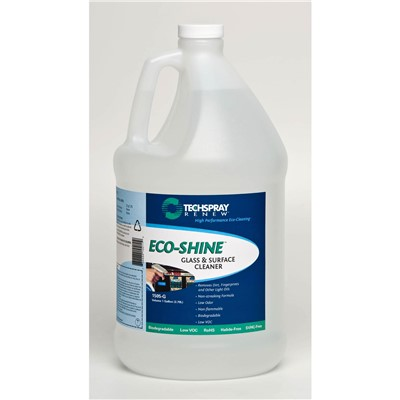 Techspray 1505-G - Eco-Shine™ Glass & Surface Cleaner - 1 Gallon