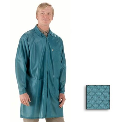 Tech%20Wear%20ESD-Safe%20Lab%20Jacket%20-%20Lapel%20Collar%20-%20OFX-100%20-%20Hip%20Length%20-%20Teal