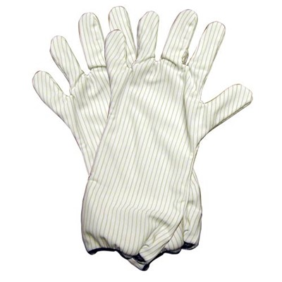 "Transforming Technologies GL9100 Series Polyester ESD-Safe Hot Gloves - 14"" - Pair"