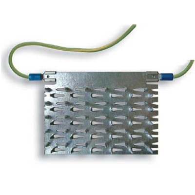 Transforming Technologies PV3210 - Grounding Plate for Comfort Mat ESD Interlocking PVC Floor Tile
