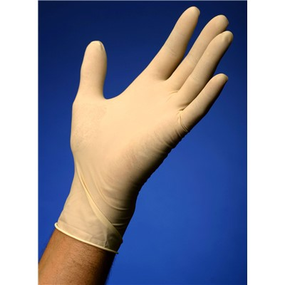"TechNiGlove TGL900 Series Class 100 Controlled Environment Powder Free Latex Gloves - 9.5"" - Natural - 10 Bags/Case"