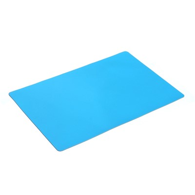 "Transforming Technologies TM332000 - 2-Layered Rubber ESD Tray Liner - 16"" x 24"" - Light Blue"