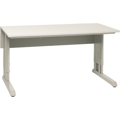 "Treston (Formerly Sovella) US-10049564P - Concept Manual Frame w/Laminate Top - 1100 lb. Capacity - 30"" x 72"" - Gray"