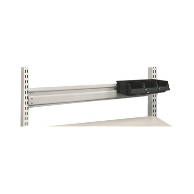 "Treston (Formerly Sovella) US-859155-49 - M72 Bin Rail - 110 lb. Capacity - 2.75"" x 70.66"" x 3.54"" - Gray"