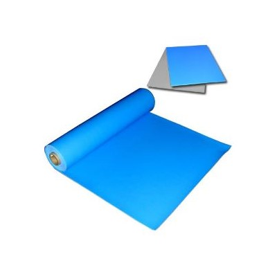 "Transforming Technologies VMD2450B - Homogeneous Vinyl Table Mat - Blue - 1/16"" x 2"