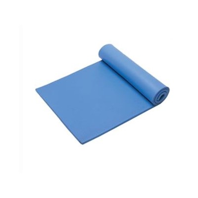 "Transforming Technologies VME2460B - VinylSTAT E Homogeneous Vinyl Table Mat - Blue - 3/8"" x 2"