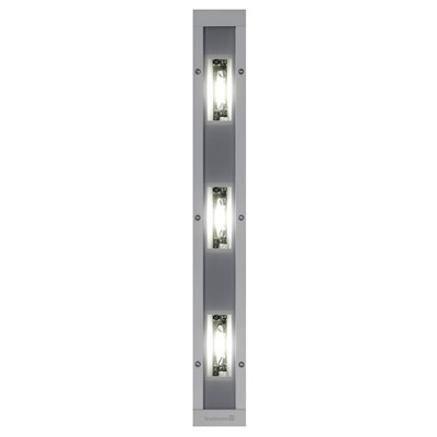 Waldmann 112-571-010 - MACH LED PRO Light Fixture w/3 Modules - Recessed Mount - 30°