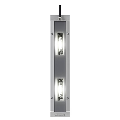 Waldmann 112-571-024 - MACH LED PRO Light Fixture w/2 Modules - Surface-Mount - 30°