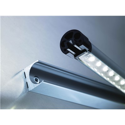 Waldmann 112-544-001 - Slim LED Industrial Light Fixture - 8W LED - 13.2""