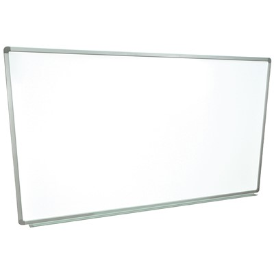 "Luxor/H Wilson WB7240W - Wall-Mounted Marker Board - 72"" x 40"" - White Surface"