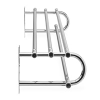 Bevco 148 - Wall Mounted Coat Rack with Shelf - Single - 48""