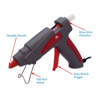 Aven Tools 17620 - Hot Glue Gun 25W w/Plastic Case
