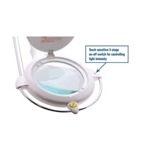 Aven Tools 26508-LED - ProVue Touch Magnifying Lamp w/LED illumination
